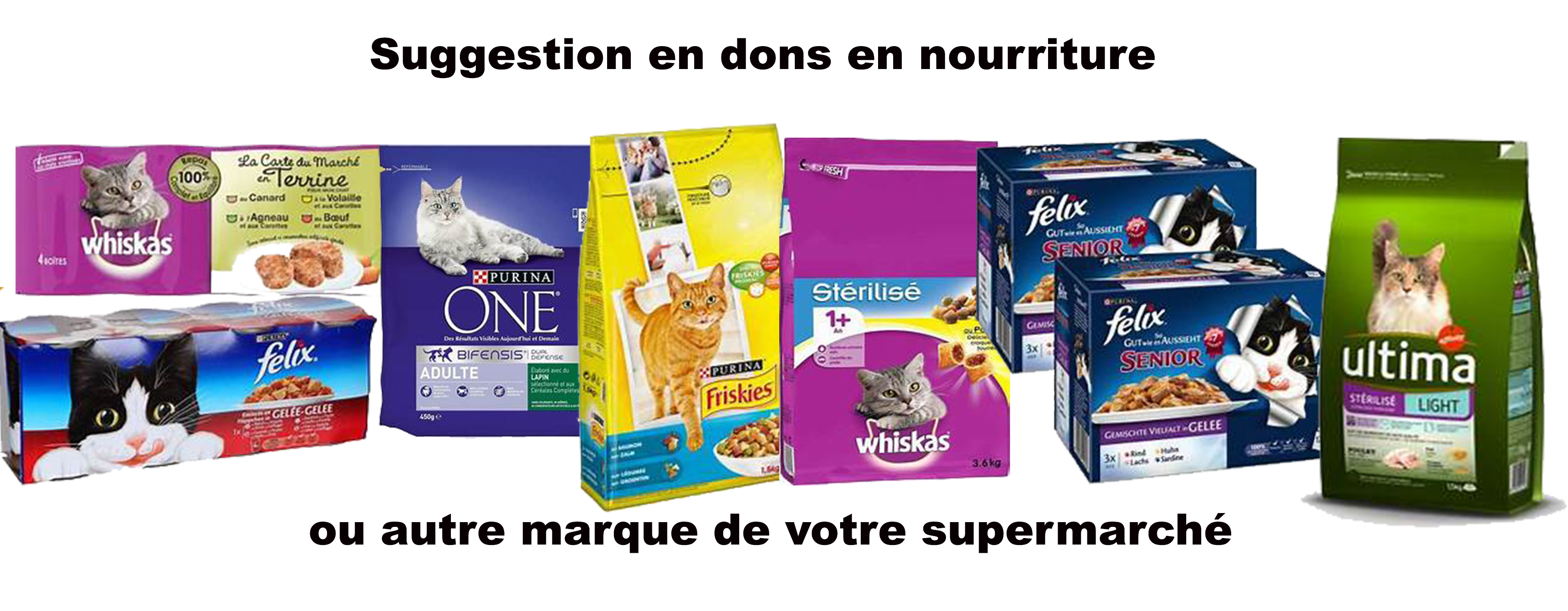 suggestion de don en nourriture